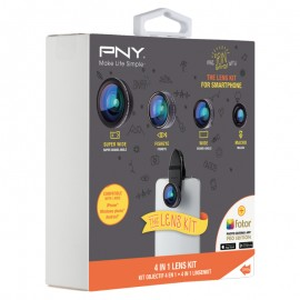 PNY LNS-4N1-02-RB - iPhone - Android - Windows Phone - Noir