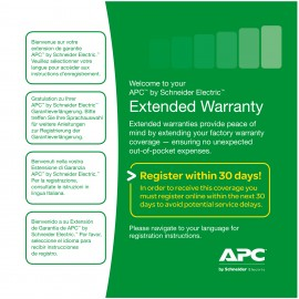 APC Extended Warranty Service Pack - Systems Service & Support 3 years