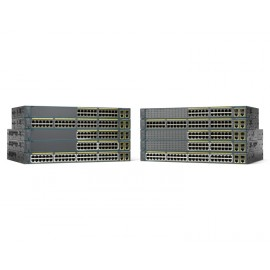 Cisco Catalyst WS-C2960+24PC-S - Géré - L2 - Fast Ethernet (10/100) - Full duplex - Connexion Ethernet - supportant l'alime...