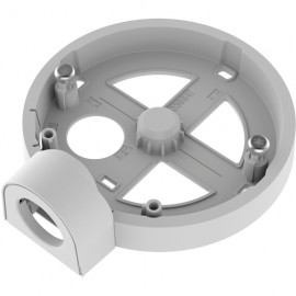 Axis T94B01P Conduit Back Box - Support - Blanc - AXIS Companion Dome V AXIS M3044-V AXIS M3045-V AXIS M3046-V