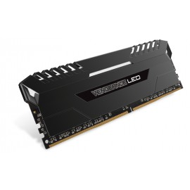 Corsair Vengeance LED 4x16GB DDR4-3000 - 64 Go - 4 x 16 Go - DDR4 - 3000 MHz - 288-pin DIMM - Noir