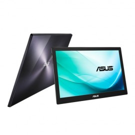 "ASUS MB169B+ - 39,6 cm (15.6"") - 1920 x 1080 pixels - Full HD - LED - 14 ms - Noir - Argent"