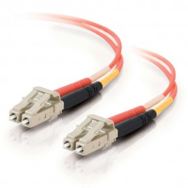 Cables To Go C2G 3m LC/LC LSZH Duplex 50/125 Multimode Fibre Patch Cable - 3 m - LC - LC - Male connector / Male connector - ...