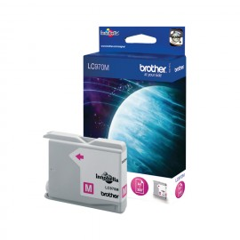 Brother LC LC970MBP - Ink Cartridge Original - magenta - 11 ml
