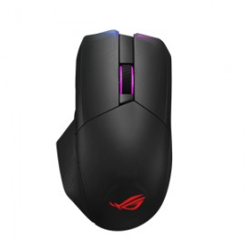 ASUS ROG Chakram - Droitier - Optique - RF Wireless+Bluetooth+USB Type-A - 16000 DPI - Noir