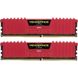 Corsair Vengeance LPX DDR4 3200MHz 16GB - 16 Go - 2 x 8 Go - DDR4 - 3200 MHz - 288-pin DIMM - Rouge