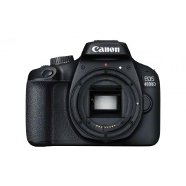 "Canon EOS 4000D Body - SLR Camera - 18 MP - Display: 6,86 cm/2,7"" TFT - Noir"