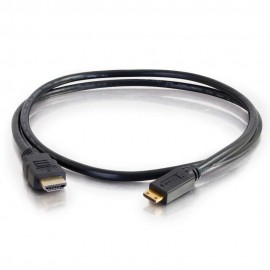 Cables To Go C2G 81999 - 1,5 m - HDMI Type A (Standard) - HDMI Type C (Mini) - Noir