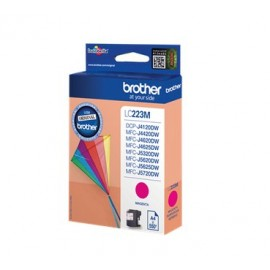 Brother LC-223M - Original - Encre à pigments - Magenta - Brother MFC-J4420DW - MFC-J4625DW - 1 pièce(s) - Impression à je...