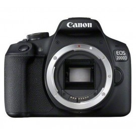 Canon EOS 2000D BODY - SLR Camera - 24,1 MP CMOS - Noir