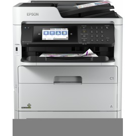 Epson WorkForce Pro WF-C579RDTWF - Jet d'encre - Impression couleur - 4800 x 1200 DPI - A4 - Impression directe - Gris