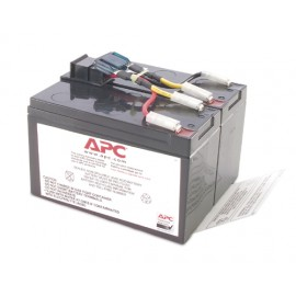 APC RBC48 - Sealed Lead Acid (VRLA) - 1 pièce(s) - 3 h - 137 x 358 x 157 mm - 13,2 kg - 0 - 40 °C