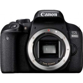 "Canon EOS 800D Body - SLR Camera - 24,2 MP CMOS - Display: 7,62 cm/3"" TFT - Noir"