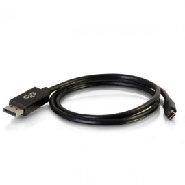 Cables To Go C2G 2m Mini DisplayPort / DisplayPort M/M - 2 m - Mini DisplayPort - DisplayPort - Mâle - Mâle - Noir