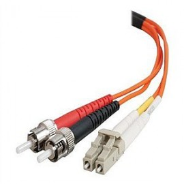 Cables To Go C2G 85493 - 2 m - OFNR - LC - ST - Male connector / Male connector - Orange