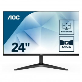 "AOC Basic-line 24B1H - 59,9 cm (23.6"") - 1920 x 1080 pixels - Full HD - LED - 5 ms - Noir"