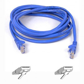 Belkin RJ45 CAT-6 Snagless STP Patch Cable 3m blue - 3 m - Bleu