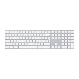 Apple Magic Keyboard with Numeric Keypad - Keyboard - QWERTY - Blanc