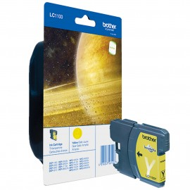 Brother LC LC1100Y - Ink Cartridge Original - Yellow - 7,5 ml