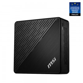 MSI Cubi 5 10M-007BEU - 0.84L sized PC - Mini PC type barebone - UHD Graphics - Ethernet/LAN - Wi-Fi 5 (802.11ac) - 65 W