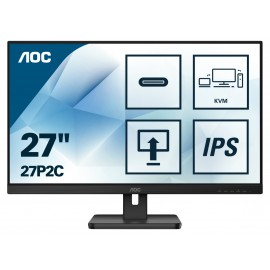 "AOC 27P2C - 68,6 cm (27"") - 1920 x 1080 pixels - Full HD - LED - 4 ms - Noir"