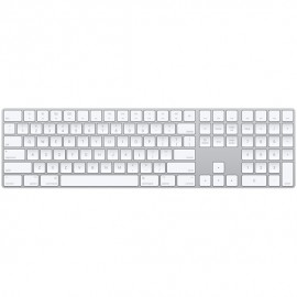 Apple Magic Keyboard with Numeric Keypad - Keyboard - QWERTY - Argent, Blanc