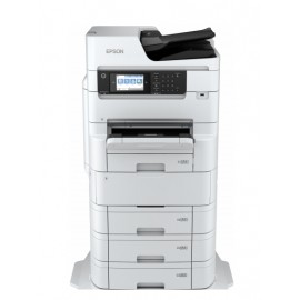 Epson WorkForce RIPS WF-C879R - Jet d'encre - Impression couleur - 4800 x 1200 DPI - A3 - Impression directe - Blanc