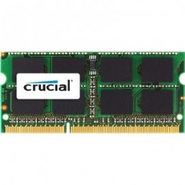 Crucial 8GB DDR3-1333 - 8 Go - 1 x 8 Go - DDR3 - 1333 MHz - 204-pin SO-DIMM
