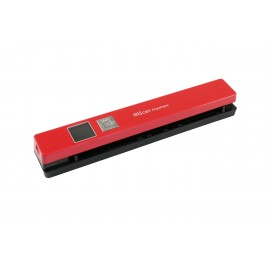IRIS IRIScan Anywhere 5 - 210 x 297 mm - 1200 x 1200 DPI - 8 ppm - Scanner ADF - Rouge - TFT