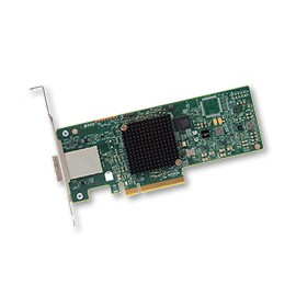 BROADCOM SAS 9300-8e SGL - lagringskontro - Serial Attached SCSI (SAS) - SAS1