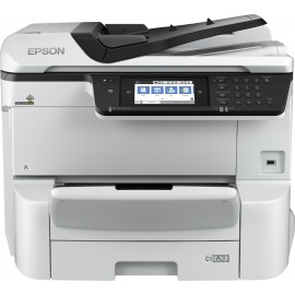 Epson WorkForce Pro WF-C8610DWF - A jet d'encre thermique - Impression couleur - 4800 x 1200 DPI - A3+ - Impression directe -...