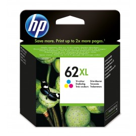 HP 62XL - Original - Encre à pigments - Cyan - Magenta - Jaune - HP - HP ENVY 5542 - 7640 / HP OfficeJet 200 - 250 - 5744 - ...