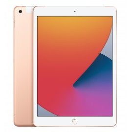 Apple iPad 8TH GEN 10.2IN A12 OS14 WIFI CELLULAR 128 GB Or - Tablet