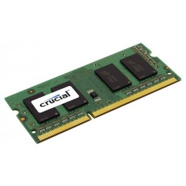 Crucial 4GB DDR3-1066 SO-DIMM CL7 - 4 Go - 1 x 4 Go - DDR3 - 1066 MHz - 204-pin SO-DIMM