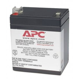 APC Battery Cartridge - Sealed Lead Acid (VRLA) - Noir - 99 x 74 x 112 mm - 1,7 kg - 0 - 40 °C - -15 - 45 °C
