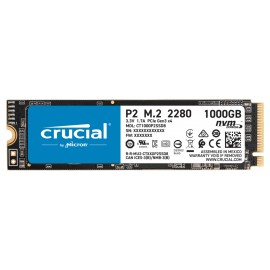 Crucial P2 - Solid-State-Disk - 1 TB - PCI Express 3.0 x4 (NVMe)