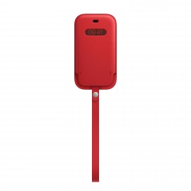 Apple iPhone 12 mini Leather Sleeve with MagSafe - PRODUCT RED