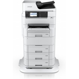 Epson WorkForce Pro WF-C879RDTWF - Jet d'encre - Impression couleur - 4800 x 1200 DPI - A3 - Impression directe - Blanc