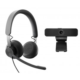 Logitech Personal Collaboration kit - Zone Wired & C925e - UC - 3 MP - Full HD - 1,2x - 1080p - 30 ips - H.264