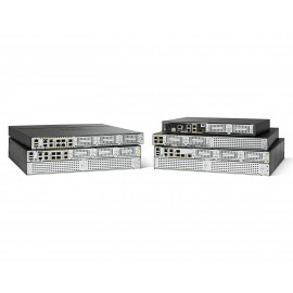 Cisco ISR4221-SEC/K9 - Ethernet WAN - Gigabit Ethernet - Noir - Gris