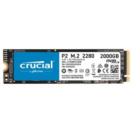 Crucial P2 - 2000 GB - M.2 - 2400 MB/s CT2000P2SSD8