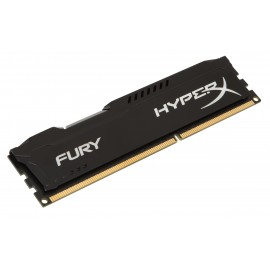 Kingston HyperX FURY Black 8GB 1866MHz DDR3 - 8 Go - 1 x 8 Go - DDR3 - 1866 MHz - 240-pin DIMM - Noir