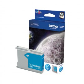 Brother LC LC1000C - Ink Cartridge Original - cyan - 7 ml