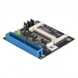 StarTech.com Adaptateur IDE vers Compact Flash - IDE 40/44 Broches vers SSD Solid State - IDE - Noir - 0 - 50 °C - -10 - 70 ...