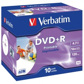 Verbatim DataLife DataLifePlus - DVD+R - 4,7 GB - Jewel Case