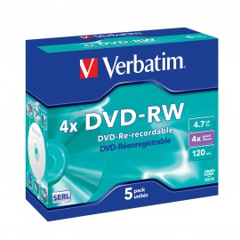 Verbatim DataLife DATALIFEPLUS - DVD-RW - 4,7 GB - Jewel Case