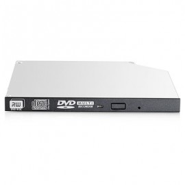 HP Enterprise 9.5mm SATA DVD-RW JackBlack Gen9 Optical Drive - Noir - Gris - Serveur - DVD Super Multi DL - SATA - CD,DVD - 2...