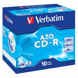 Verbatim DataLife AZO Crystal - CD-R - 0,7 GB - Jewel Case