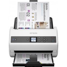 Epson WorkForce DS-870 - 600 x 600 DPI - 65 ppm - 30 bit - 24 bit - 65 ppm - Alimentation papier de scanner