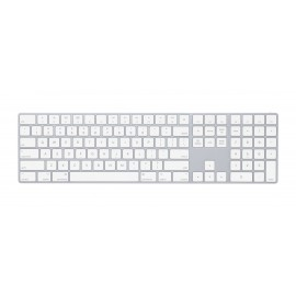 Apple Magic Keyboard with Numeric Keypad - Keyboard - QWERTY - Argent